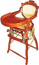 Turn of the Century Convertible High Chair