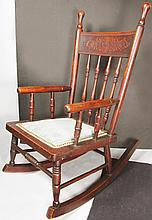 Oak Childs Rocking Chair