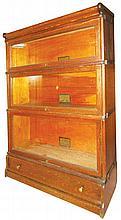 Quarter Sawn Oak Barrister Bookcase