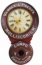 Vanner & Prest's Baird Advertising Clock