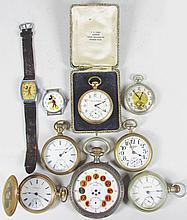 Collection of Nine Watches