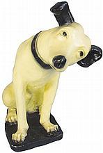 RCA Nipper Chalkware Figure