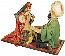 Early Naughty Dolls on Magic Carpet