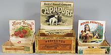 Collection of Three Cigar Boxes