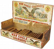 War Eagle Cheroots Store Display Box