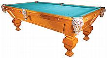 1895 Brunswick Balke-Collendar Pool Table