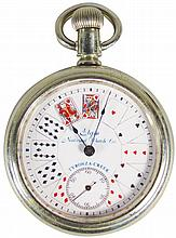 Elgin National Watch Co. Card Suit Pocket Watch