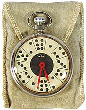Pocket Watch Style Dice Game by Otto Grun