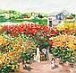 Lam Duc Manh (b. Vietnamese, 1972) Flower Garden