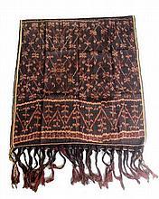 A natural die Sumba cloth  150 x 66 cm