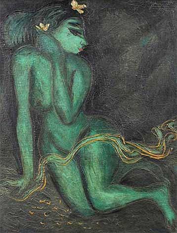 Gunarsa, Nyoman (b. Klungkung, Bali, 1944) Gadis