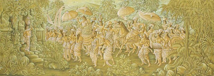 Munut, I Wayan (b. Kelod, Ubud, Bali, 1941) Tengah