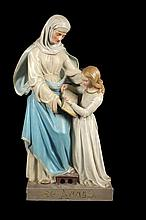 SAINT ANNE WITH HER DAUGHTER MARY