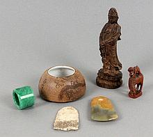 LOT OF 6 PIECES OF ASIAN CRAFTWORK
