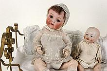 TWO JAPANESE BABY DOLLS