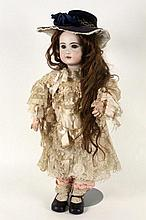 A SIMON & HALBIG BISQUE HEADED DOLL