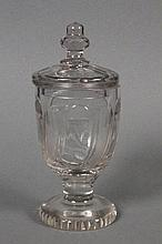 BOHEMIAN BIEDERMEIER GOBLET WITH COVER