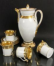 A BIEDERMEIEER COFFEE SERVICE