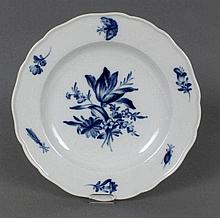 A 19th CENTURY MEISSEN PLATE