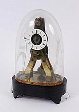 A SKELETT CLOCK WITH ALARM