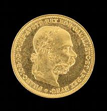 A 20 GOLD CROWN COIN