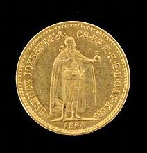 A 10 GOLD CROWN COIN
