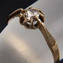 AN ART NOUVEAU RING