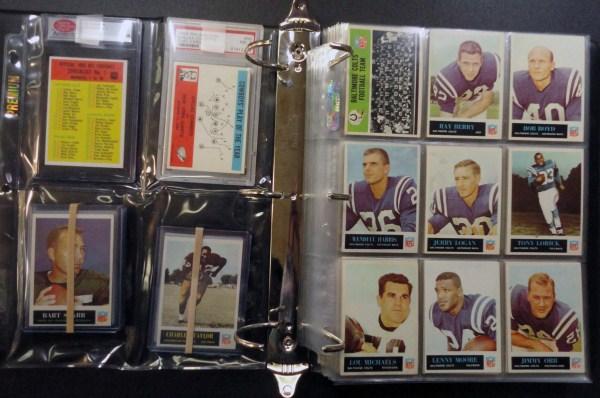 1965 Philadelphia 198 card football set EXMT to NMNT