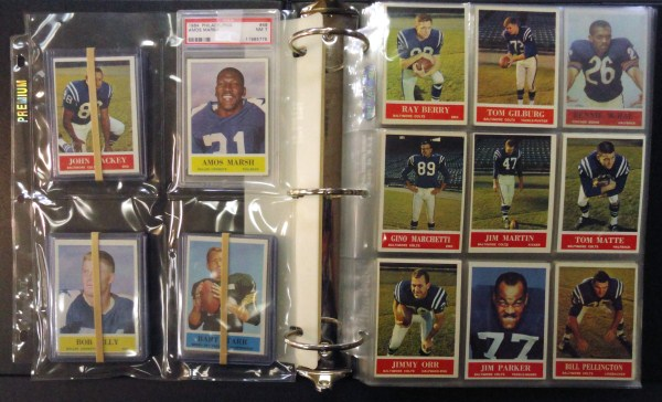 1964 Philadelphia 198 card football setNMNT to MINT HEAVY to NMNT couple a few