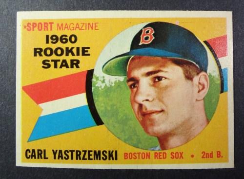 1960 Topps #148 Carl Yastrzemski ROOKIE EM