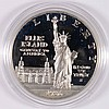 1986-S STATUE OF LIBERTY PROOF COMMEMORATIVE SILVER DOLLAR, IN CAPSULE, NICE!!!