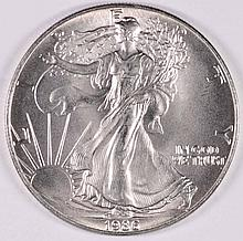 1986 AMERICAN SILVER EAGLE, MS-69+  NICE FIRST YEAR OF ISSUE