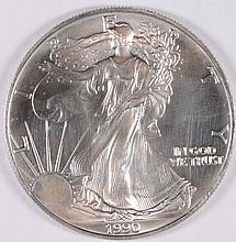 1990 AMERICAN SILVER EAGLE, MS-69+  NICE!