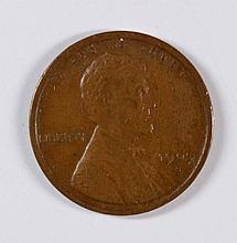 1909-S LINCOLN CENT XF-45