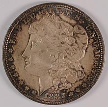 1887 MORGAN DOLLAR MS-64 (NICE TONIING)