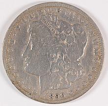 1890-CC MORGAN DOLLAR G/VG