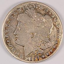 1893 MORGAN DOLLAR VG/FINE