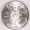 1983 MEXICAN LIBERTAD ONE OUNCE .999 SILVER  ANNUAL BULLION COIN