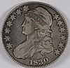 1830 BUST HALF DOLLAR VF/XF