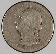 1932-D WASHINGTON QUARTER AG
