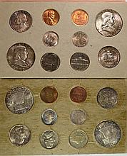 1957 MINT SET NICE ORIGINAL COINS
