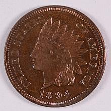 1894 PROOF INDIAN HEAD CENT PR CH BU