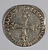 1587 FRANCE 1/4 SILVER ECU NICE XF
