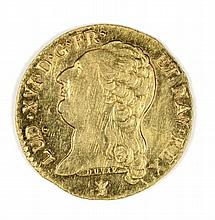 1787 FRANCE LOUIS D'OR GOLD KM 591.7 NICE ORIGINAL BU