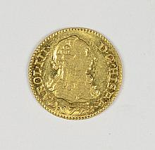 1778 SPAIN 1/2 ESCUDO GOLD MADRID MINT MS-62