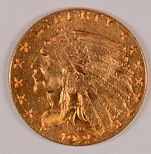 1925-D $2.50 GOLD INDIAN MS-64