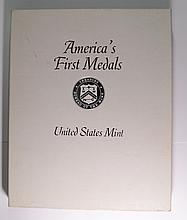 UNITED STATES MINT, AMERICA'S FIRST MEDALS  COMMEMORATING BATTLES OF REVOLUTION