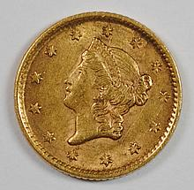 1852 $1 GOLD (TYPE 1)