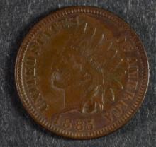 1885 INDIAN HEAD CENT, CHOICE BU
