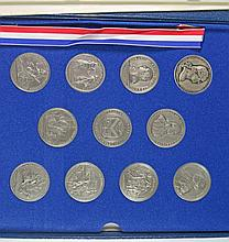 AMERICAS FIRST MEDALS, COMMEMORATING  BATTLE OF THE AMERICAN REVOLUTION